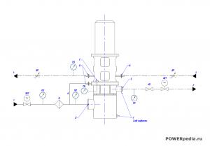 Схема гидравлическая КсВ