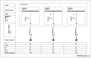 Однолинейная схема КсВ