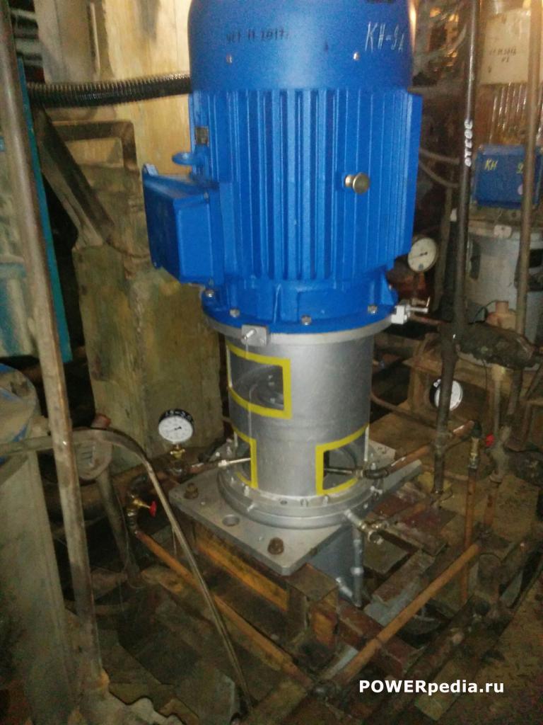 Общий вид насосного агрегата КсВ 125-140