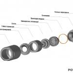 Конструкция паромеханической форсунки