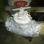Изоляция запорной арматуры трубопроводов