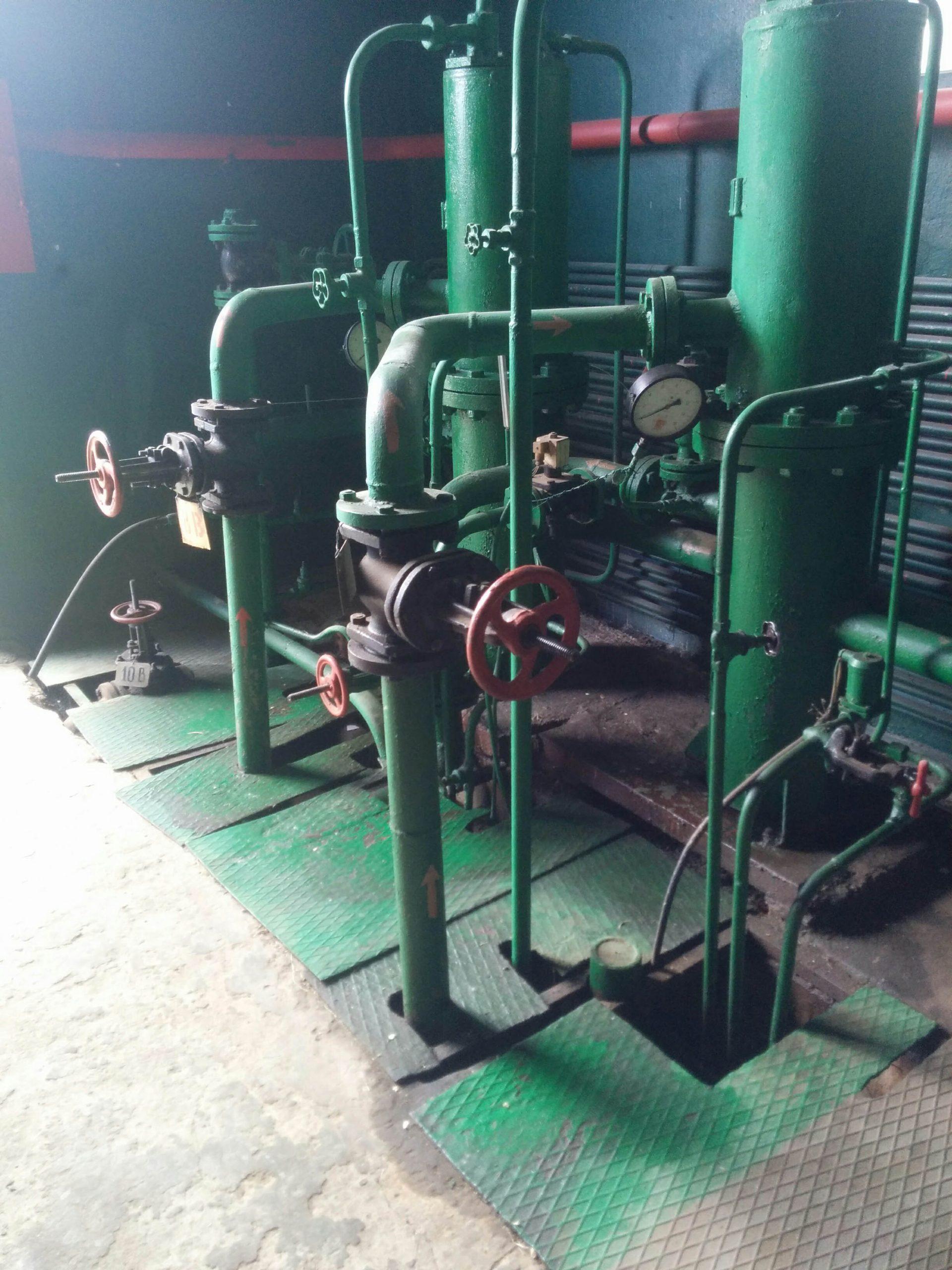 Трубопроводы компрессорной установки