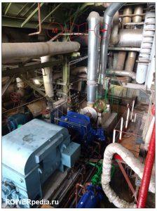 Фото системы двигатель-гидромуфта-насос