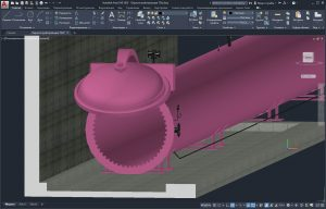 3D модель автоклава