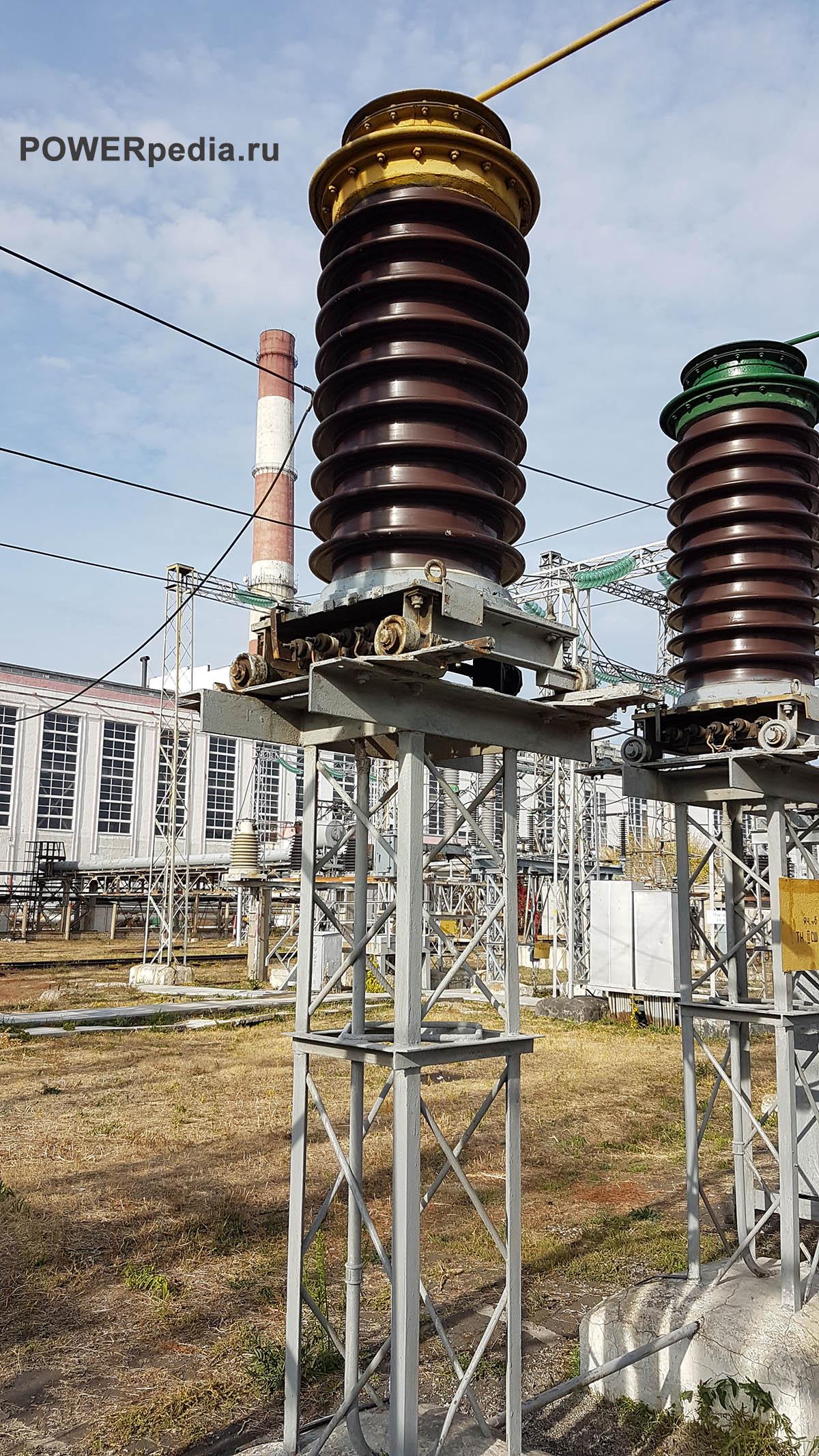 Фото трансформатора НКФ-110-83