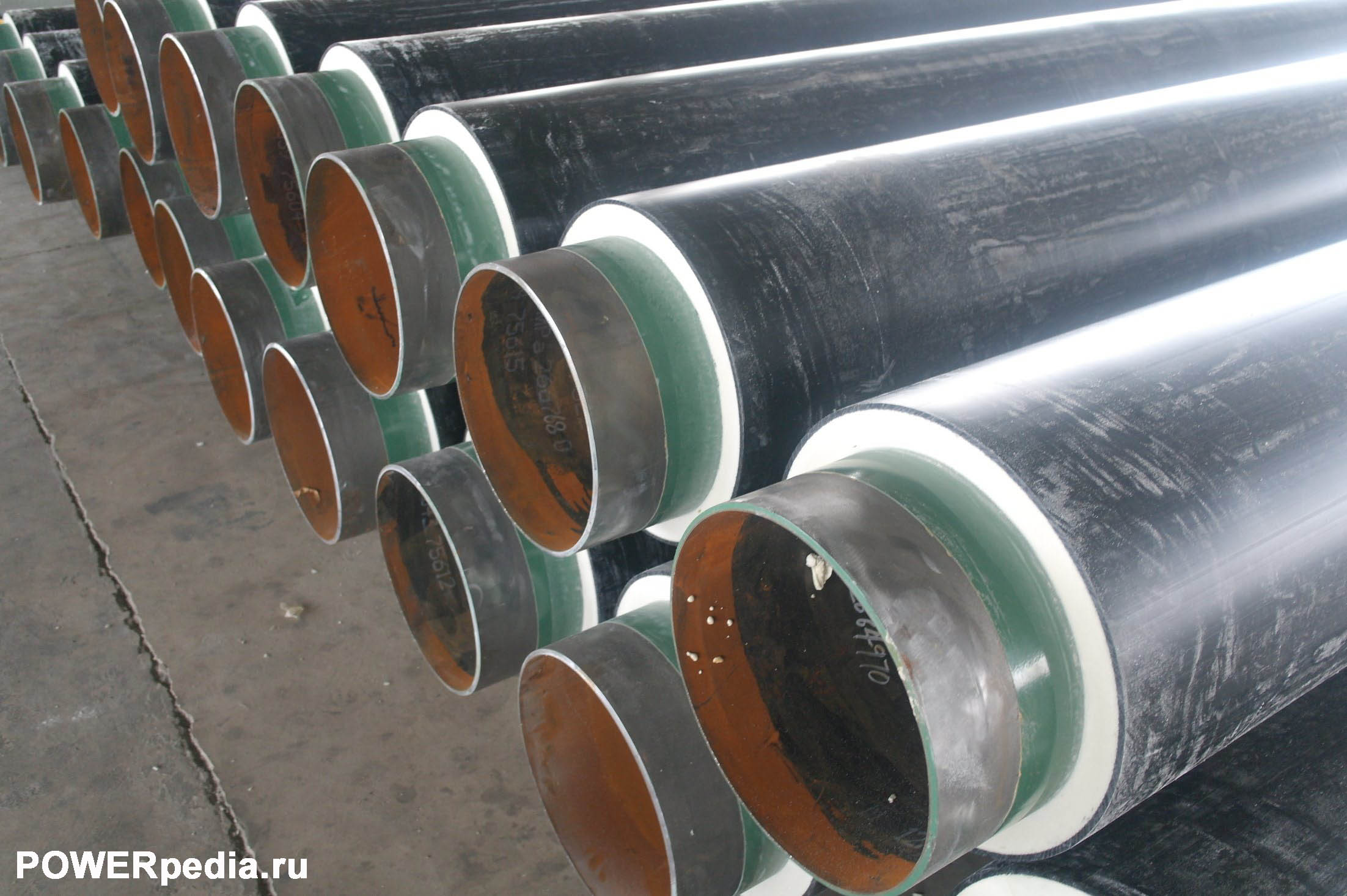 Заводское противокоррозионное покрытие трубопроводов