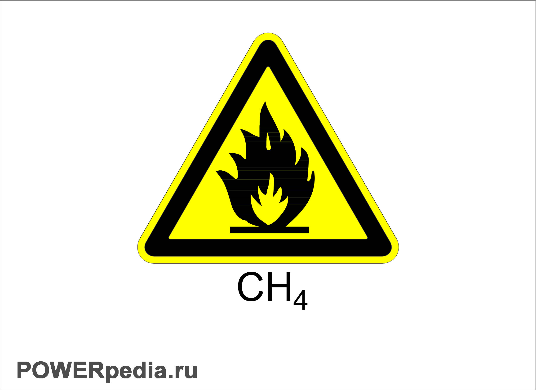 Символ пожароопасно